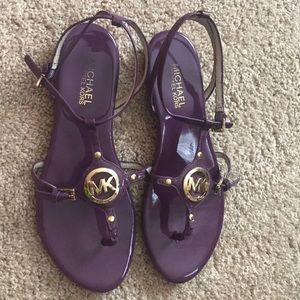 Michael Kors 8.5 Jelly Sandals